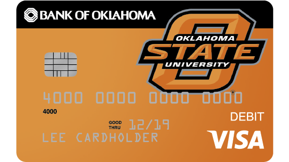 your bank of oklahoma visa debit card with emv chip activated technology is fast safe and accepted worldwide it pulls money directly from your checking - Visa Money Card